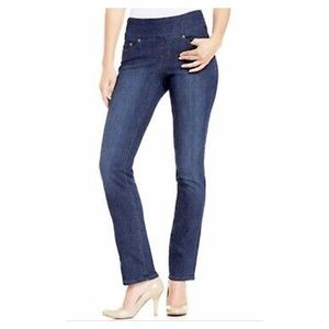 JAG Jeans-Straight Leg High Rise-Pull-On-8